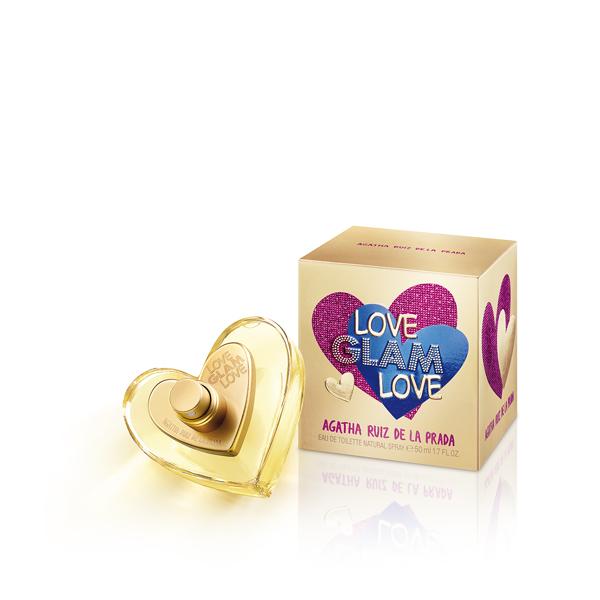 Perfume Agatha Ruiz Love Glam Woman 50ml Originales