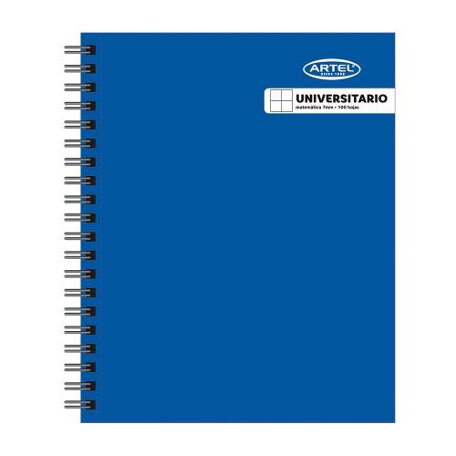 Cuaderno Artel Universitario Liso 100 Hj 7mm x10ud
