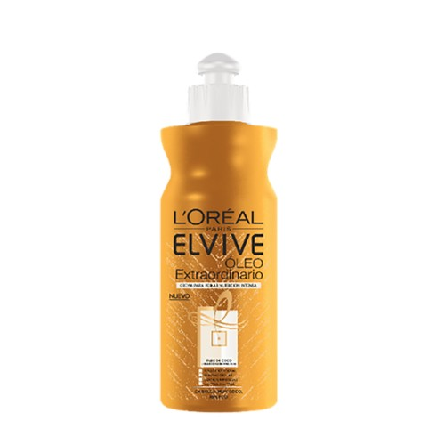 Crema peinar Elvive extraordinario oil coco 300ml