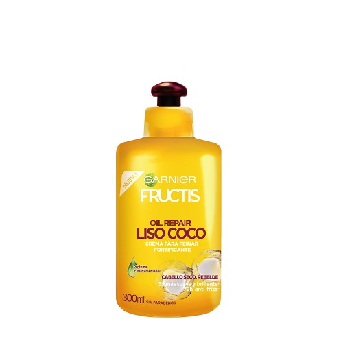 Crema de peinar Fructis oil repair coco 300ml