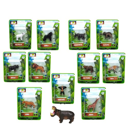 Figura Ansaldo animal planet 1 figura surtida blister