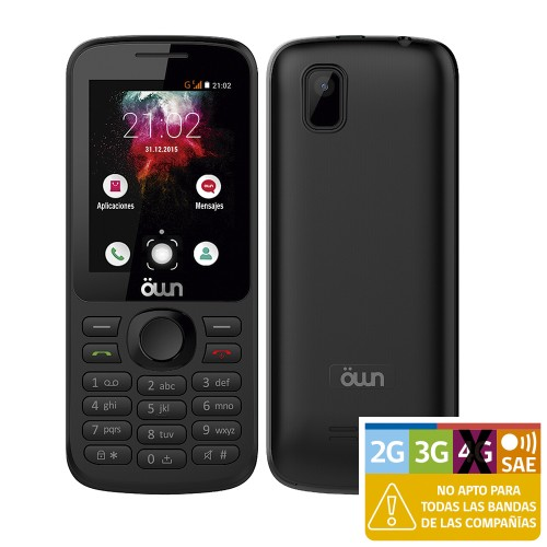 Celular Entel Own F1313 facebook lite y whatsapp