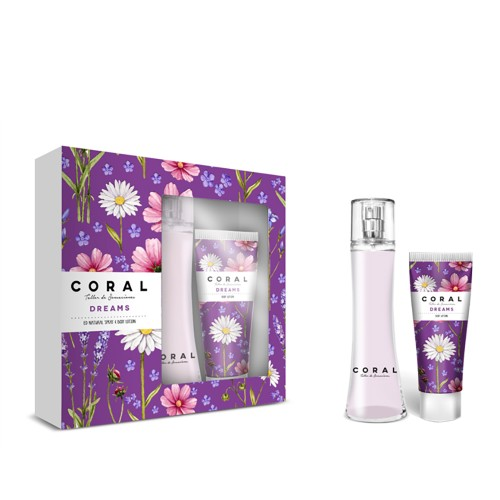 Estuche Coral dreams 100ml + body lotion 70ml