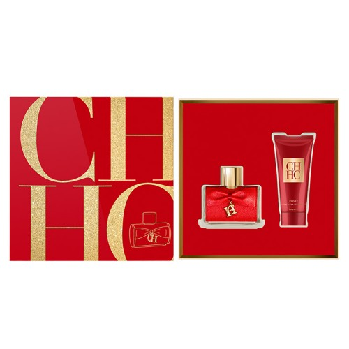 Estuche edt Carolina Herrera privee edp 80ml+body shower 100