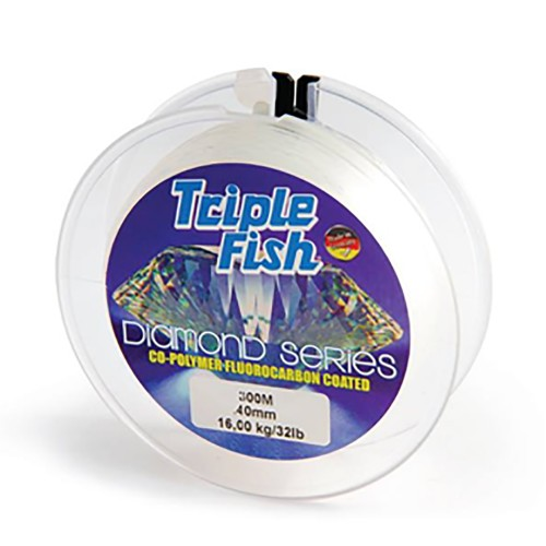 Nylon diamond 0.4 Triple fish x10ud