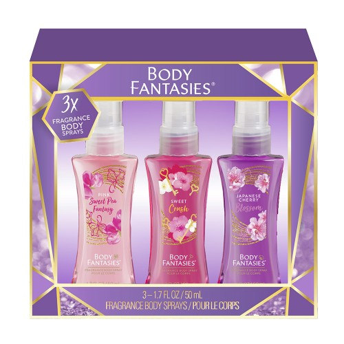 Estuche trio Body Fantasies 3 unidades body mist 50ml