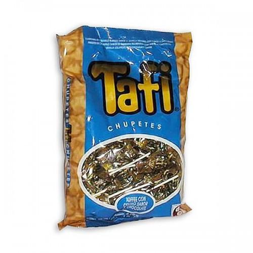Chupete TAFI sabor chocolate 50 unidades