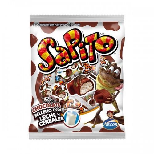 Chocolate Dos en uno sapito bolsa 30x10gr