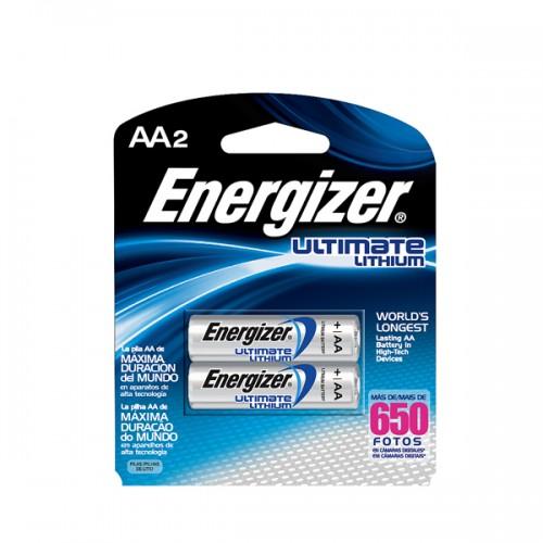 Pila litio Energizer blíster AAx2
