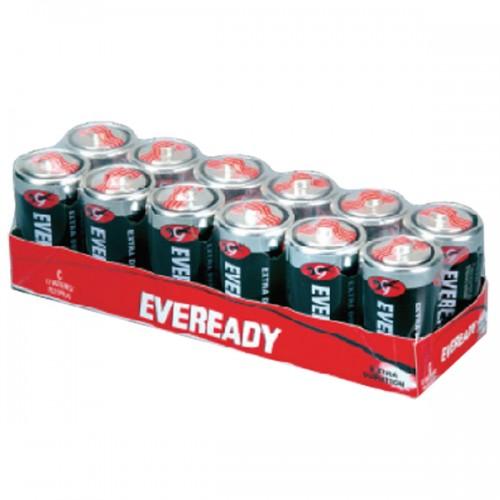 Pila convencional Eveready extra duración blíster Cx12