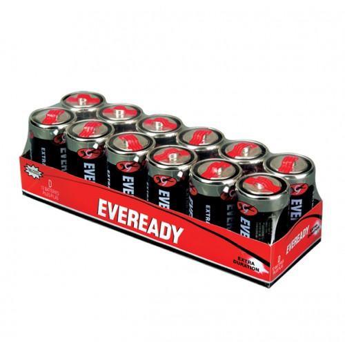 Pila convencional Eveready extra duración blíster Dx12
