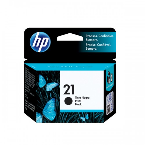Tinta HP cartridge 21 negro 7ml x1ud