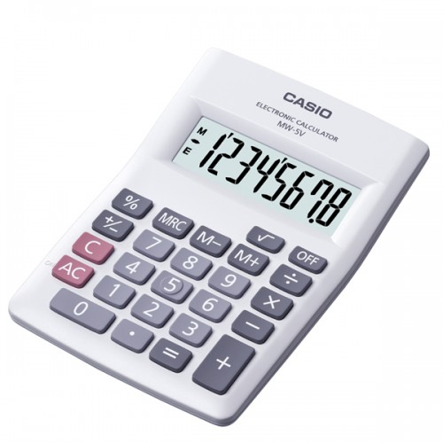 Calculadora Casio MW-5VWE/ME-5VBK 8 digitos
