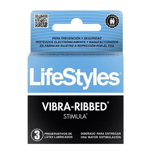 Preservativos LIFESTYLE stimula  x 3   3525
