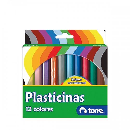 Plasticina Torre Imagia 12 colores x1ud