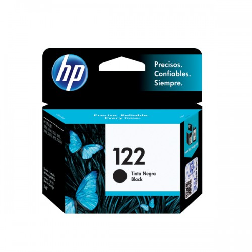 Tinta HP cartridge 122 negro 2ml x1ud