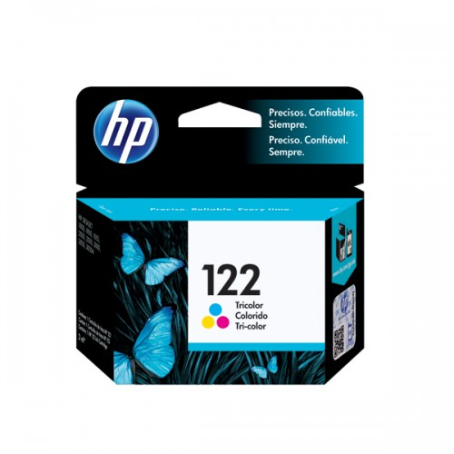 Tinta HP cartridge 122 tricolor 2ml x1ud