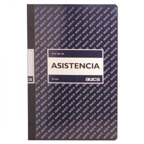 Libro de asistencia Auca 50 hojas x 1 unidad