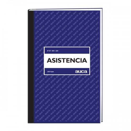 Libro de asistencia Auca 100 hojas x 1 unidad