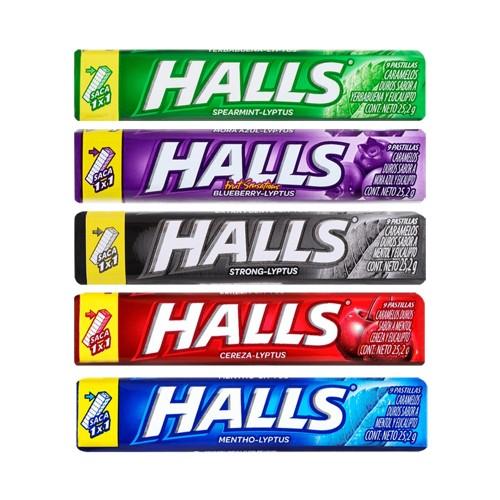 Halls lyptus 12x25 .g