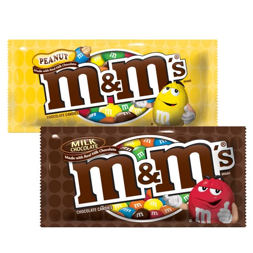 Chocolates M&M 48u x 49g