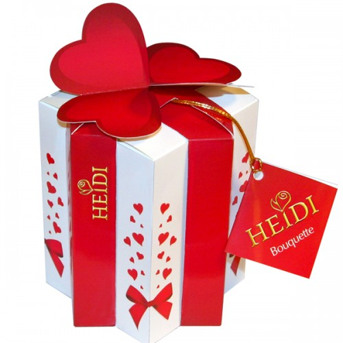 Estuche corazón regalo Heidi de 140 g