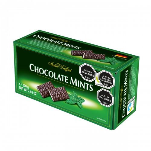 Estuche chocolate mints Maitre Truffout 200 g