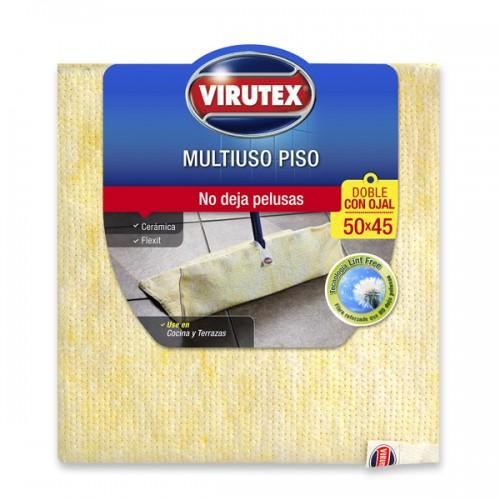 Trapero de algodón Virutex doble con ojal 45x50cm