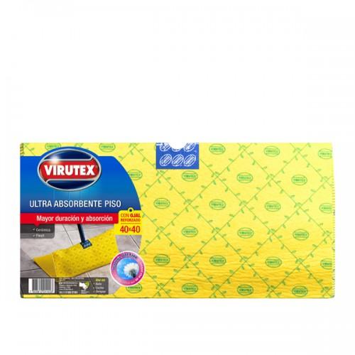 Trapero Virutex ultra absorvente con ojal 40x40cm