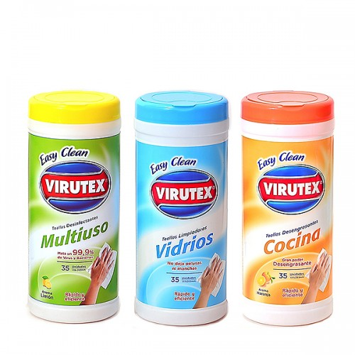 Toallitas easy clean Virutex x35u