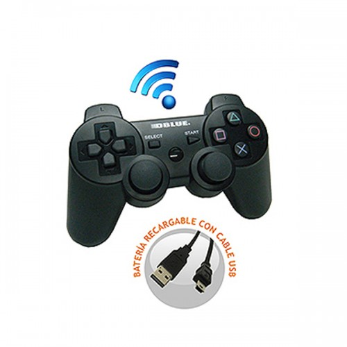 Joystick Dblue playstation 3 bluetooth DBC5002 negro