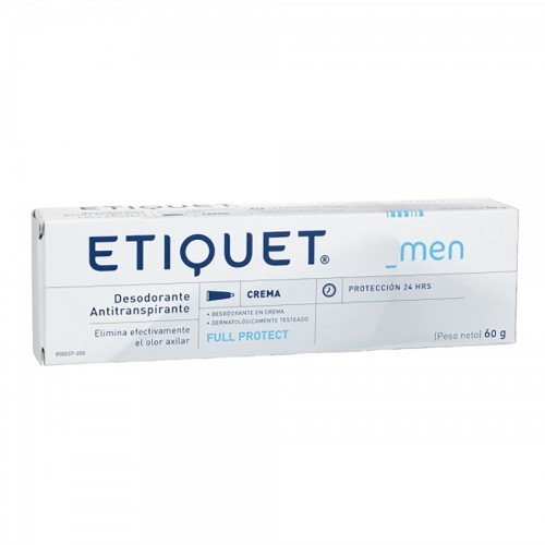 Desodorante ETIQUET men crema  1x60 7539