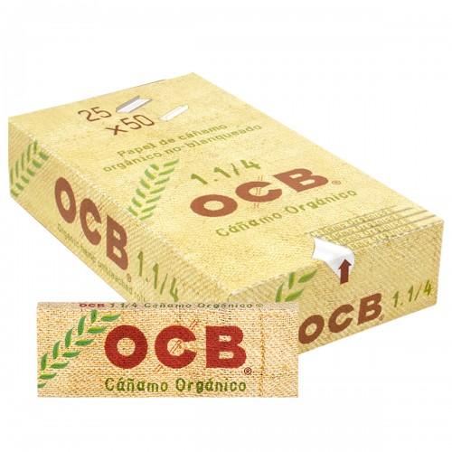 Papel fumar Ocb cáñamo display 1x25ud