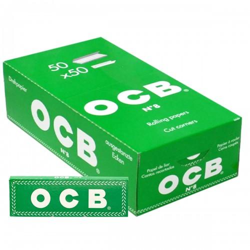Papel de fumar OCB verde x50 libritos