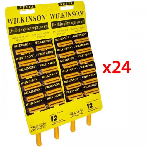 Maquina de afeitar Wilkinson display 1x24ud