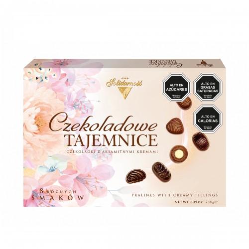 Estuche ROSAS SOLIDARNOSC Chocolate Mysteries 238g