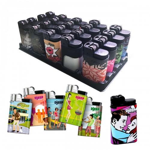 Encendedores premium Djeep 1 display de 24 unidades 0283