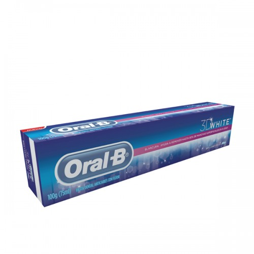 Pasta dental Oral-B 3DW frescura.brill 1x100gr