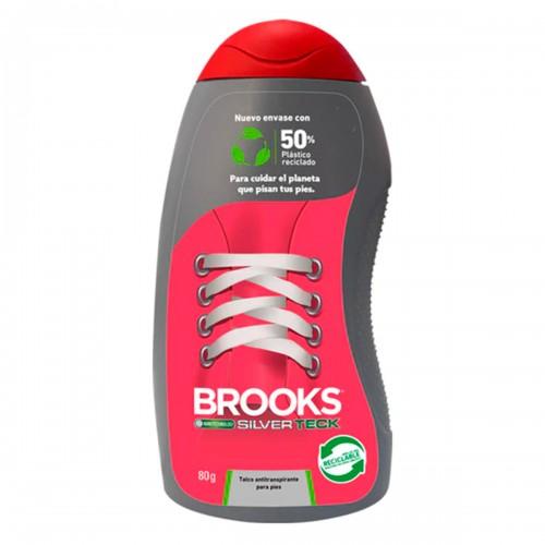 Talco Brooks para pies y zapatilla 80g