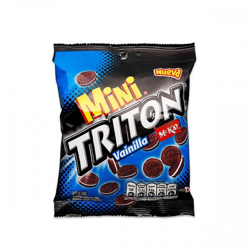 Galleta mini TRITON impulso 24 unidades