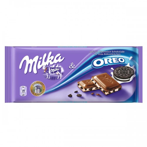 Chocolate tableta Milka oreo 100g