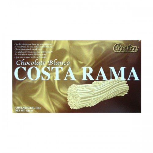 Estuche Costa rama chocolate blanco x115 g