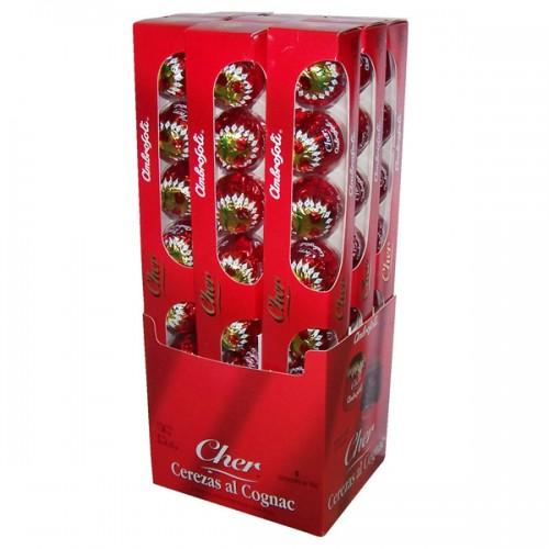 Chocolate Ambrosoli Cereza al coñac estuche 1x120gr