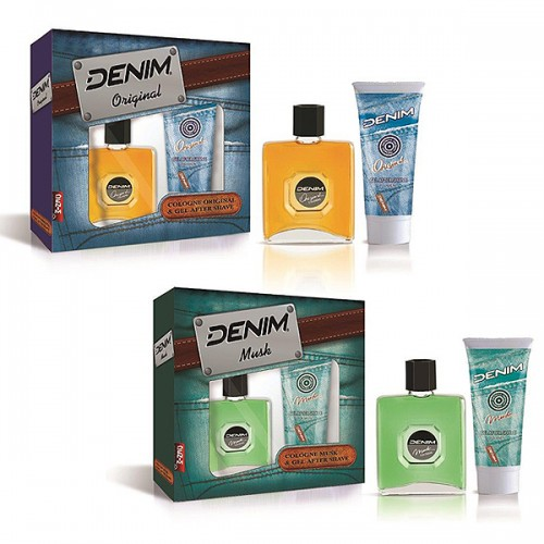 Estuche Denim colonia 75ml + gel after shave