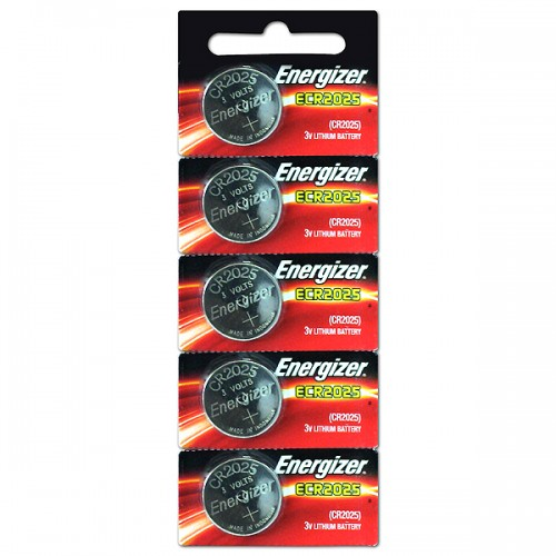 Pila botón Energizer ECR2025 blíster x 5u