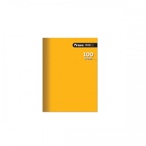 Cuaderno Torre college liso mat 7mm 100 hojas x 10 unidades