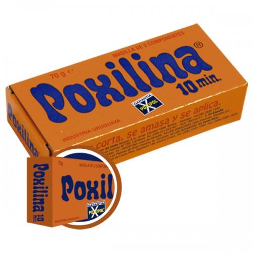 Adhesivo Poxilina masilla de dos componentes 70 g