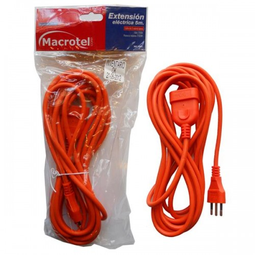 Extensión eléctrica Macrotel 10 mts