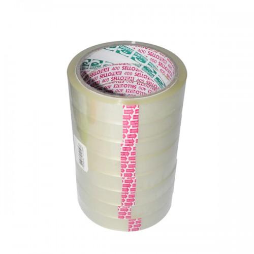 Cinta adhesiva Sellofilm 12mm x45mt x12ud