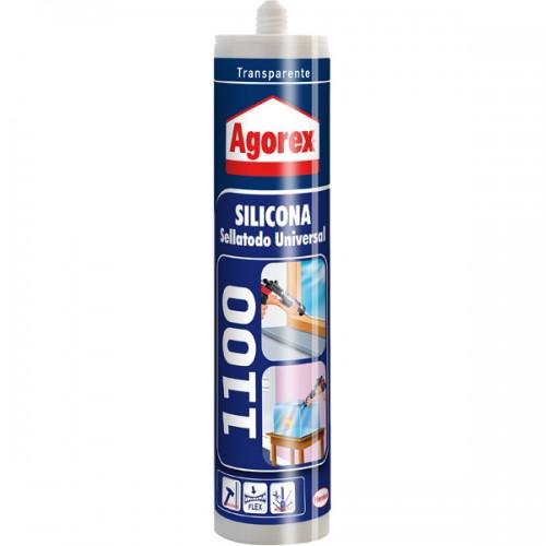 Silicona Agorex 1100 trasparente 300 ml